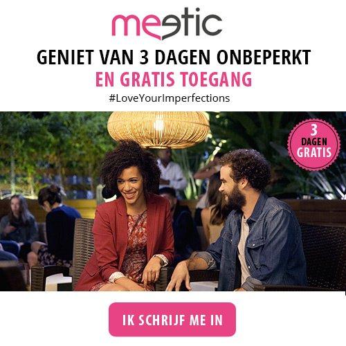 3 dagen gratis daten Meetic Valentijn 2017