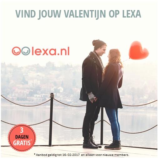 3 dagen gratis daten Lexa Valentijn 2017